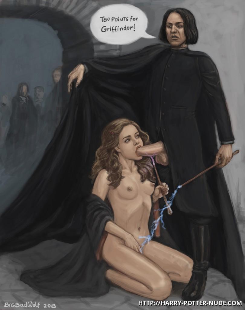 Hermione Jean Granger Nude